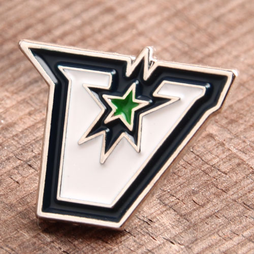Custom V Star Pins