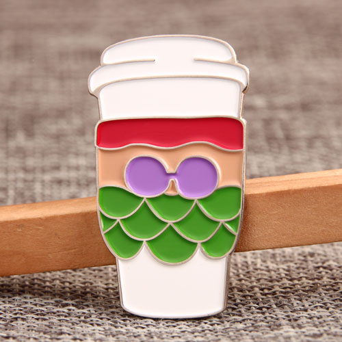 Holiday Cup Lapel Pins
