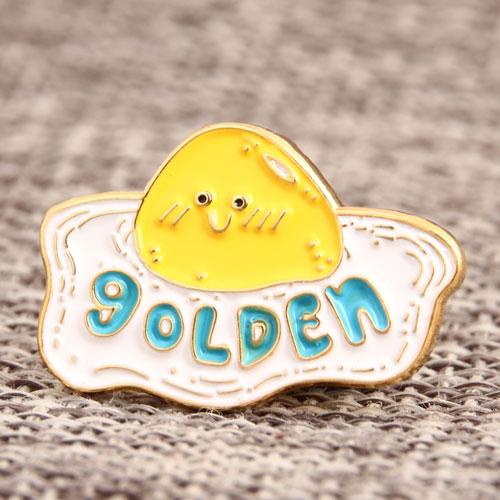Golden Egg Lapel Pins