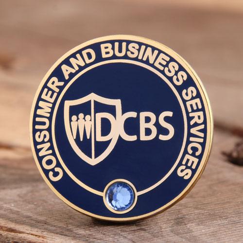 Custom DCBS Enamel Pins