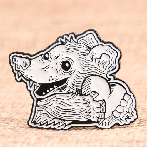 Sketch Mouse Enamel Pins
