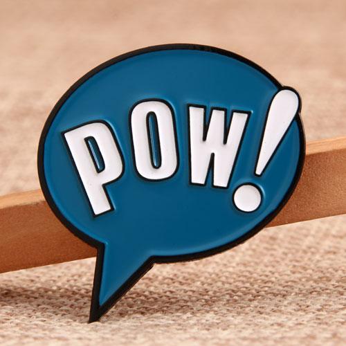 POW Enamel Pins