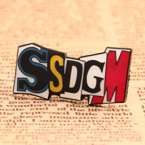SSDGM Enamel Pins