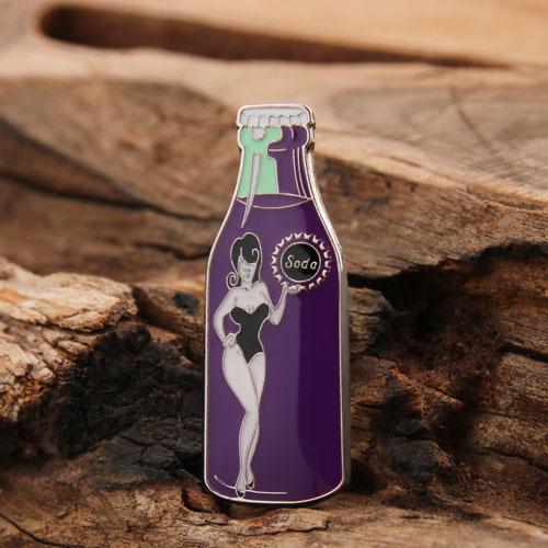 Custom Soda Enamel Pins