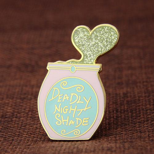 Deadly Nightshade Lapel Pins