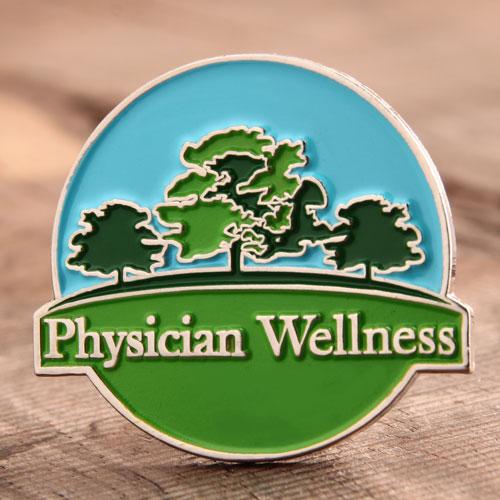 Custom Physician Wellness Pins