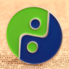 Tai Chi Custom Pins