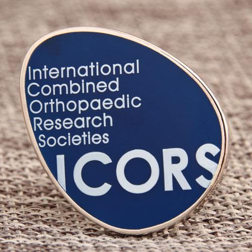 Custom Icors Enamel Pins