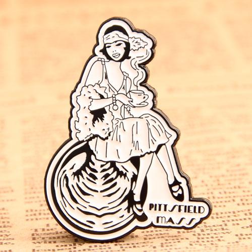 Lady Custom Pins