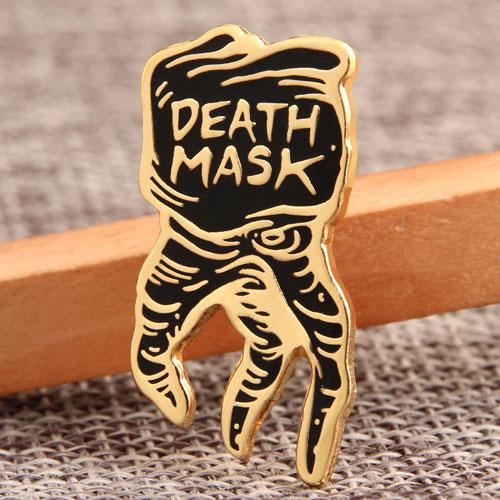 Death Mask Pins