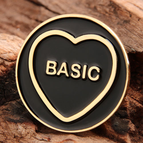 Basic Heart Lapel Pins