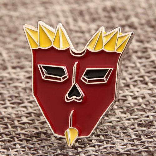 Cartoon Head Pins