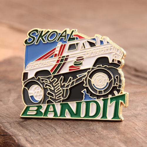 Custom Skoal Bandit Pins