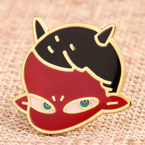 Red Imp Custom Pins