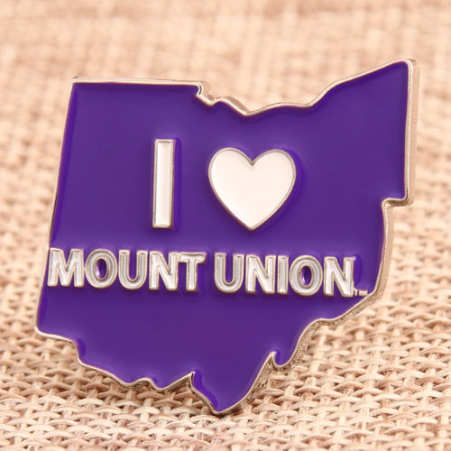 Mount Union Enamel Pin
