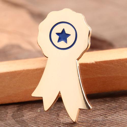 Custom Star Award Pins