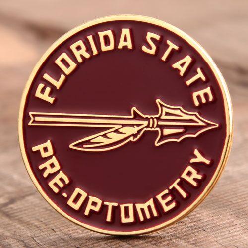 Custom Pre. Optometry Pins