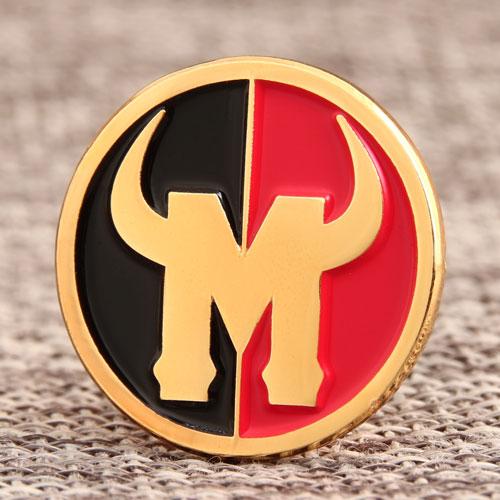 Custom Ox Horn Pins