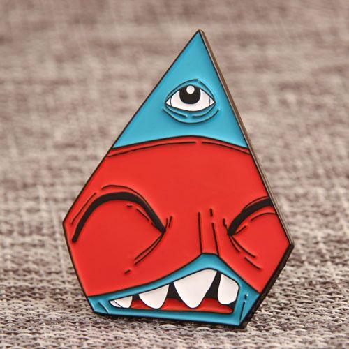 Custom Shark Eye Pins