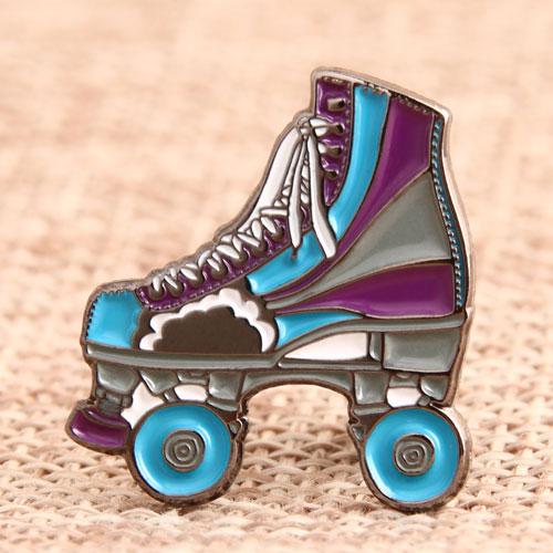 Ice Skates Enamel Pins