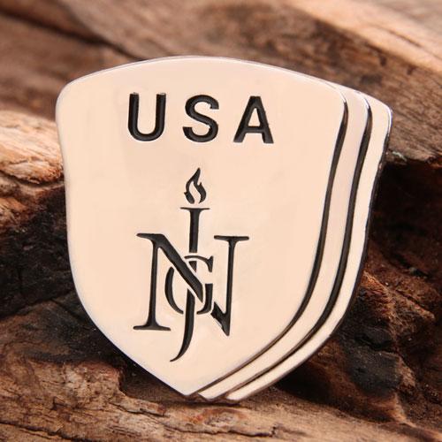 USA Enamel Lapel Pins