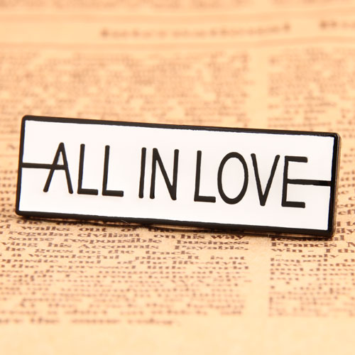 All In Love Lapel Pins