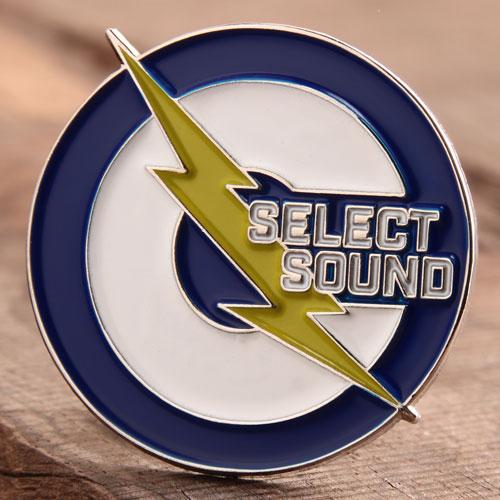 Select Sound Enamel Pins