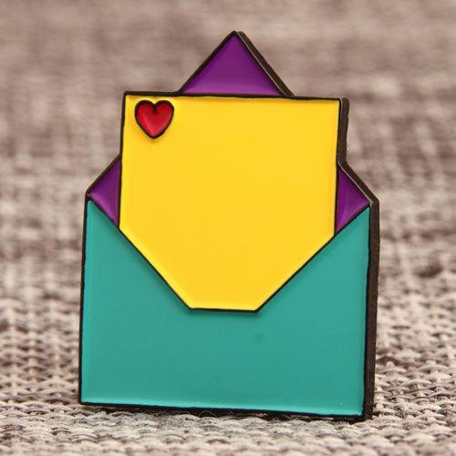 Envelope Custom Pins