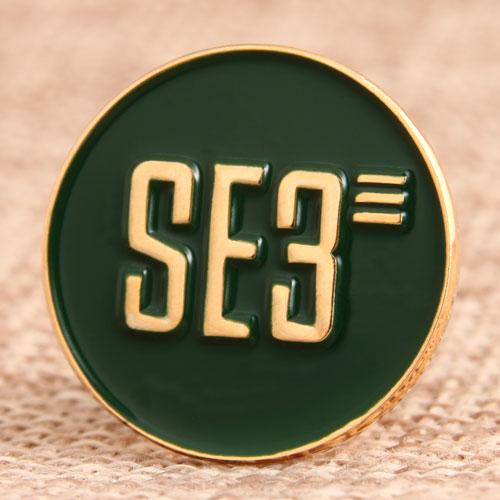 SE3 Lapel Pins
