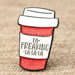 Coffee Cup Enamel Pins