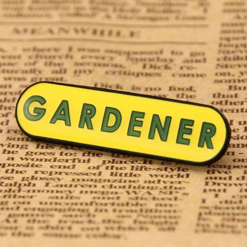 Gardener Custom Enamel Pins
