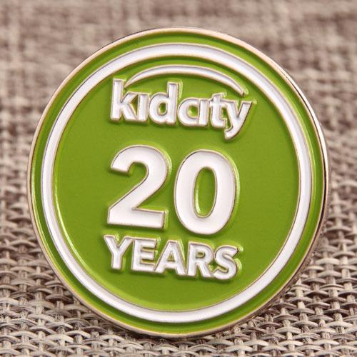 Kidcity Enamel Lapel Pins