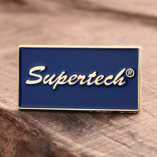 Supertech Custom Enamel Pins