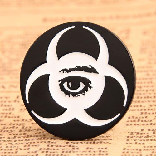 Custom Enamel Pins for Eye