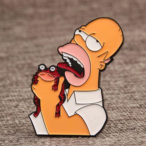 Simpson Enamel Lapel Pins