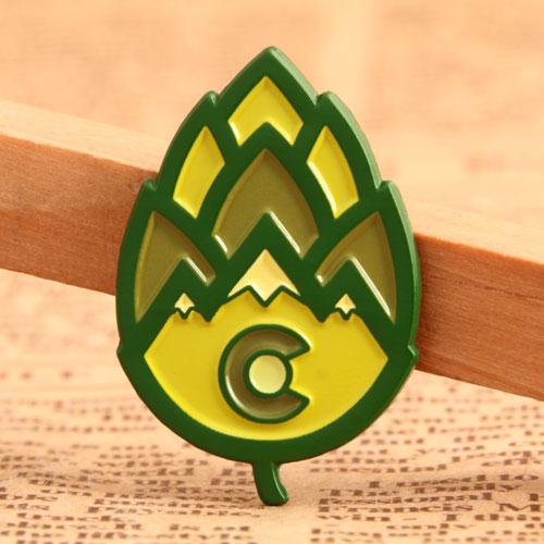 Leaf Soft Enamel Pins