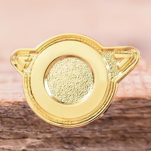 Golden Circle Personalized Pins Cheap