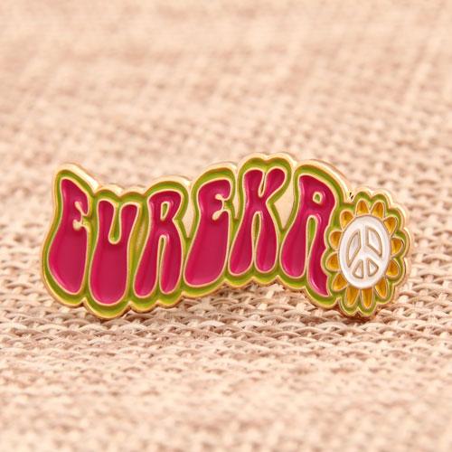 Eureka Soft Enamel Pins