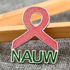 NAUW Custom Enamel Pins