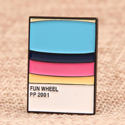 Fun Wheel Soft Enamel Pins