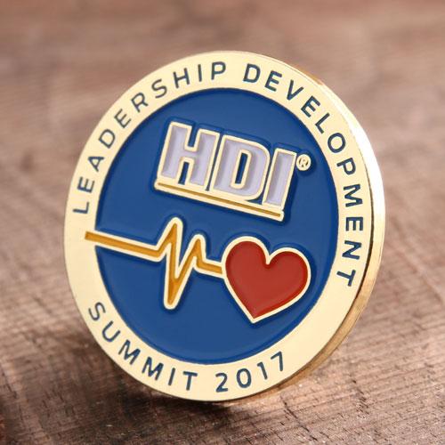 HDR Enamel Lapel Pins