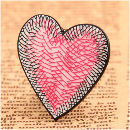 Special Heart Custom Enamel Pins