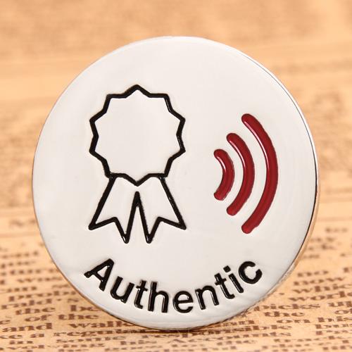 Authentic Enamel Lapel Pins