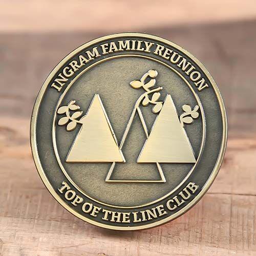 Ingram Family Enamel Pins