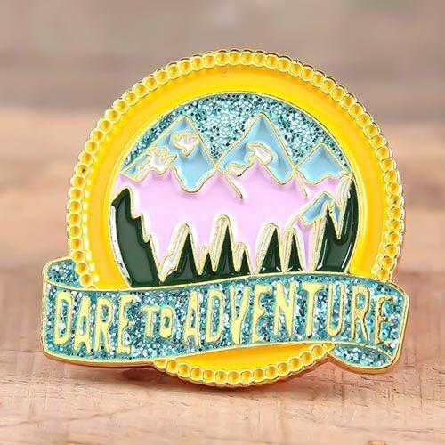 Dare to Adventure Enamel Pins