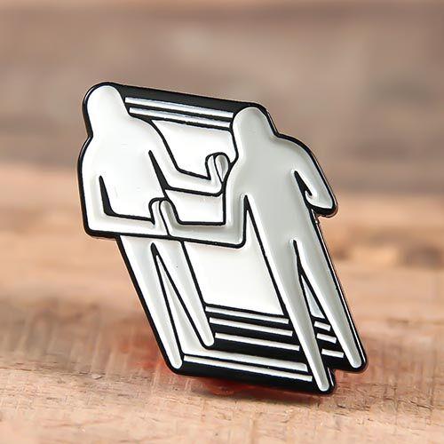 Put Hand Lapel Pins No Minimum