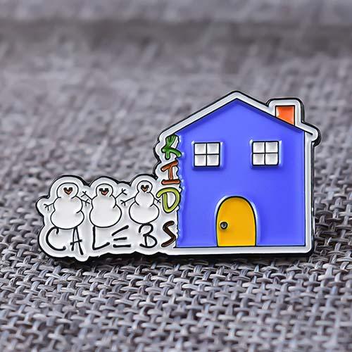 Three Snowman Custom Enamel Pins