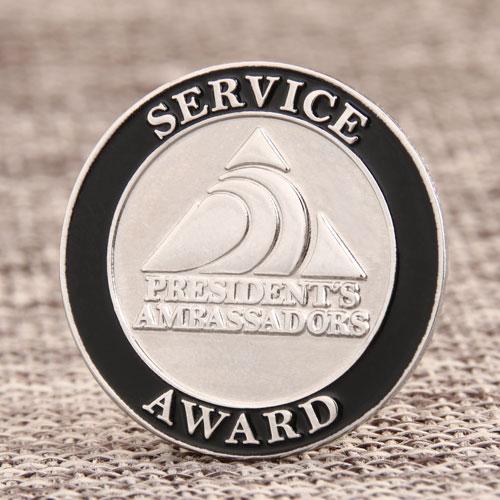 Service Award Enamel Pin