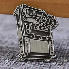 KF4AV Custom Enamel Pins