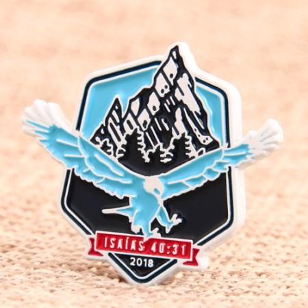 Eagle Enamel Lapel Pins